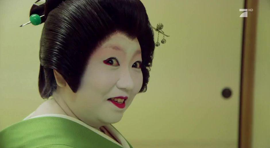 Japanischer Geisha-Sex