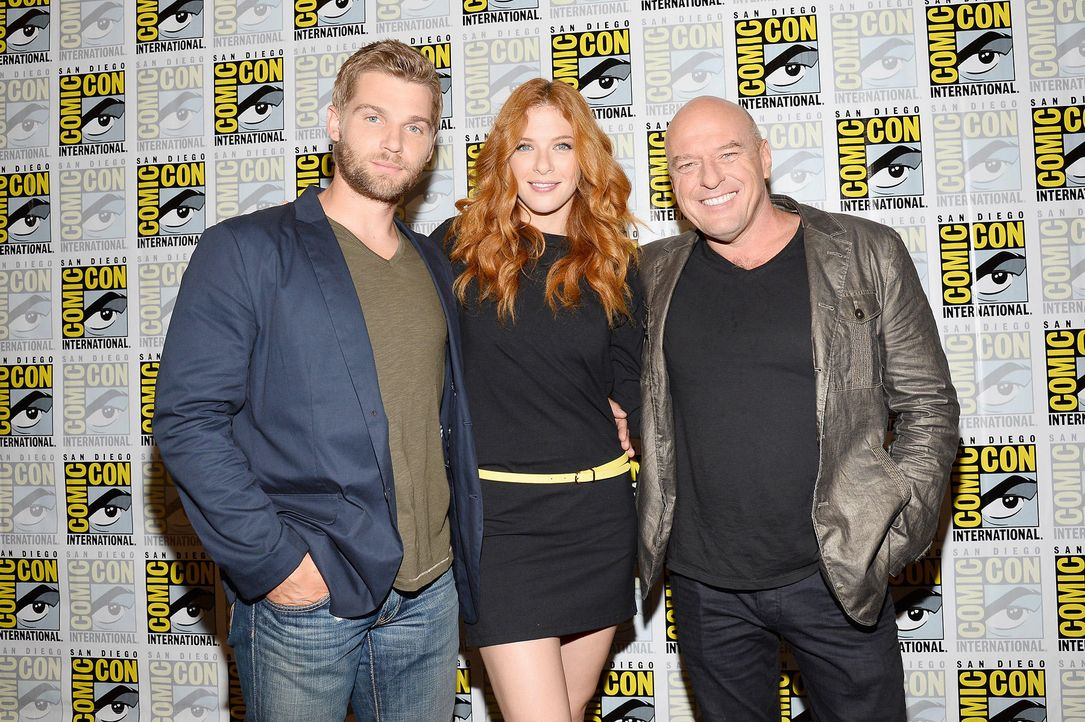 Comic-Con-Mike-Vogel-Rachelle-Lefevre-Dean-Norris-13-07-20-getty-AFP.jpg 1800 x 1198 - Bildquelle: getty-AFP