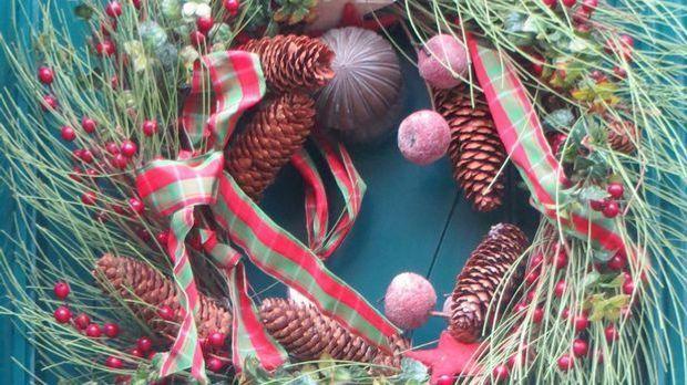 Weihnachtsdeko: Hauseingang festlich schmücken - SAT.1