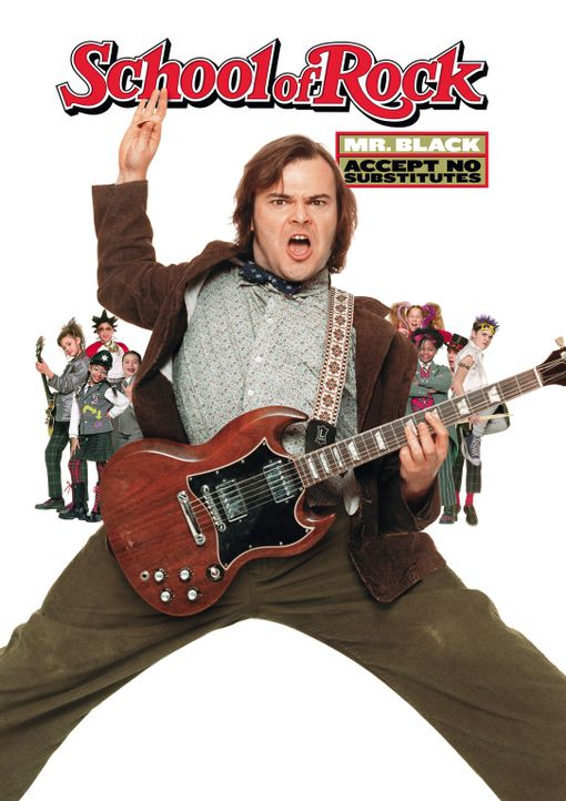 School of Rock mit Jack Black