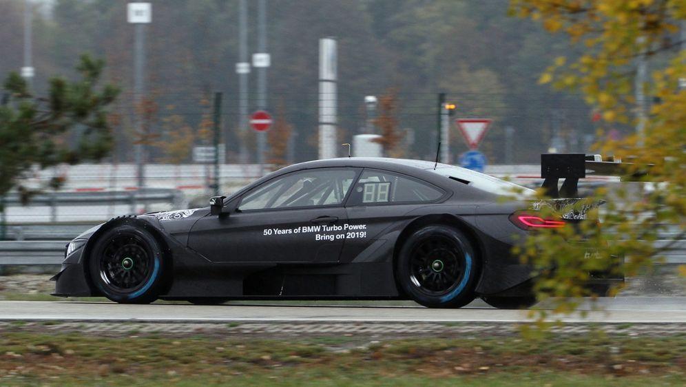Bruno Spengler fuhr die ersten Meter mit dem nach Class-1-Reglement modifizi... - Bildquelle: BMW