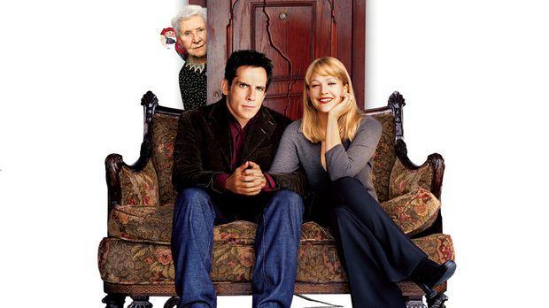 Der Appartement-Schreck mit Ben Stiller, M., Drew Barrymore, r. und Eileen Es...