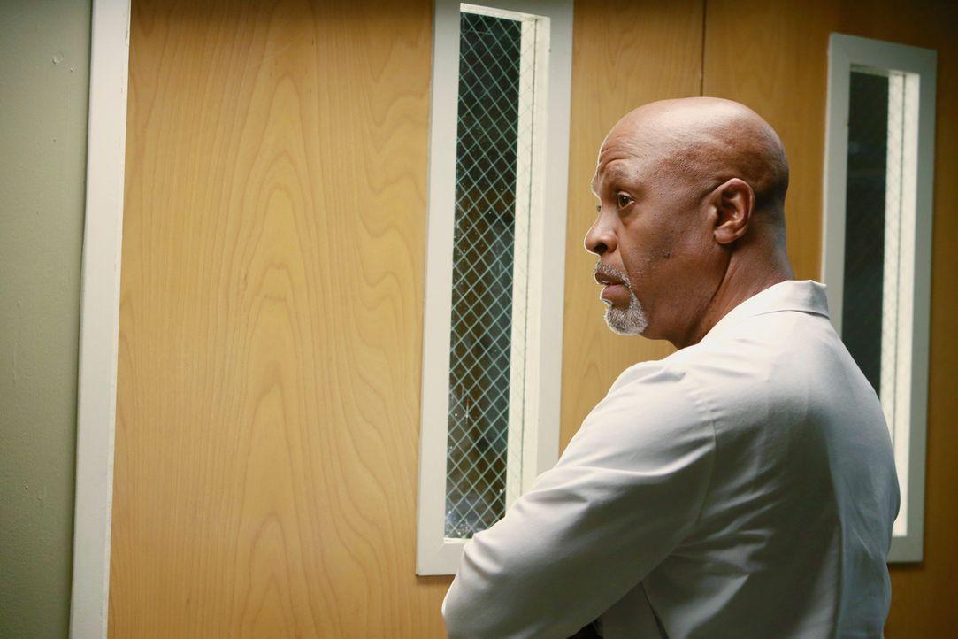 Webber (James Pickens Jr.) hat die rettende Idee, um Bailey zum Reden zu bringen. Er ruft ihren Mann an ... - Bildquelle: ABC Studios