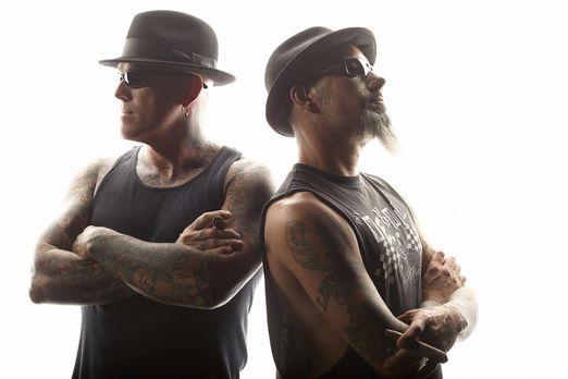 Tattoo Shockers - Las Vegas - Die Tattoo-Spezialisten Dirk (l.) und Ruckus (r...