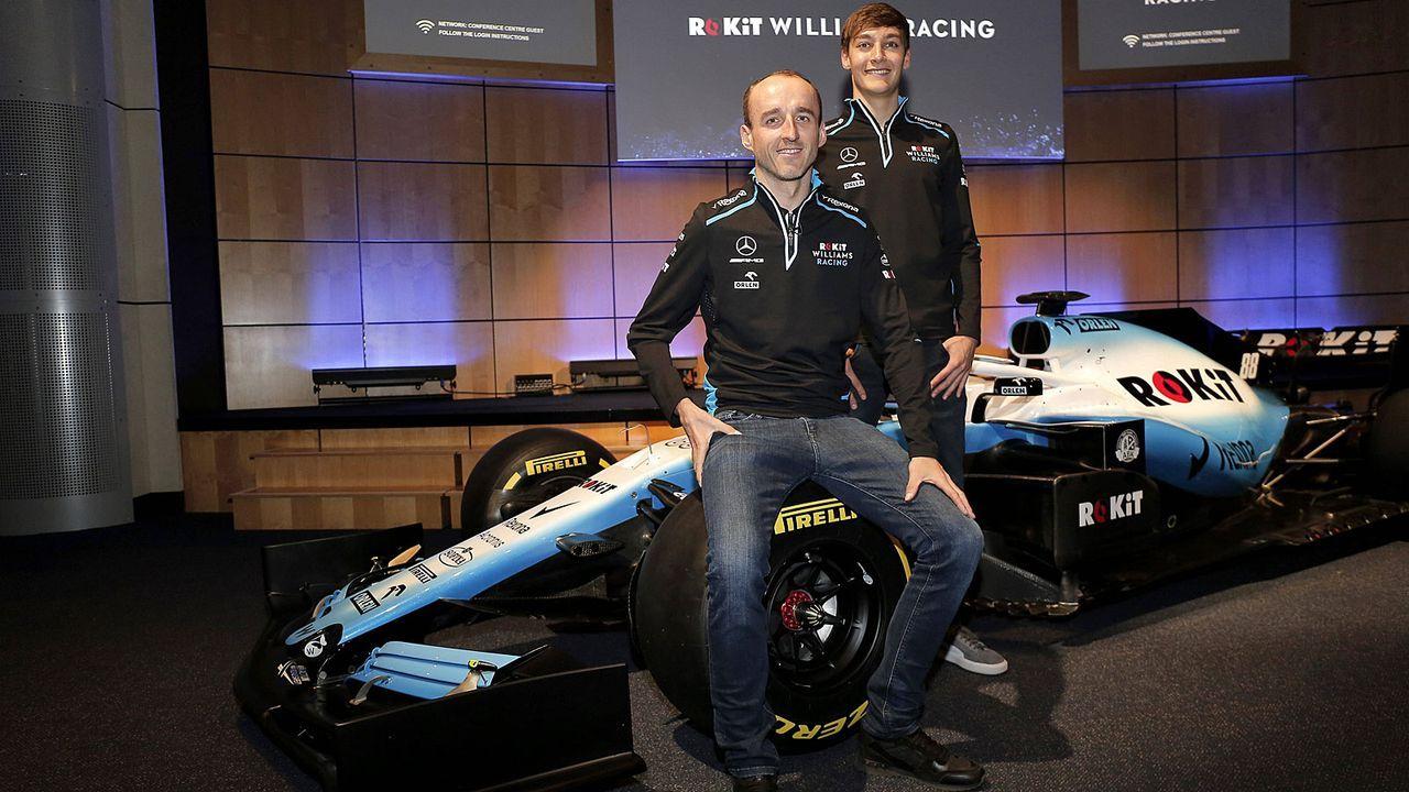 Formel-1-Autos 2019: Williams Racing - Bildquelle: imago/Newspix