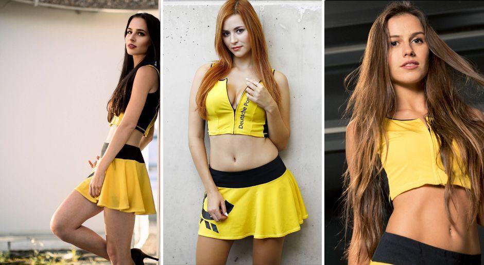 So sexy sind die Grid Girls in der DTM - Bildquelle: Imago