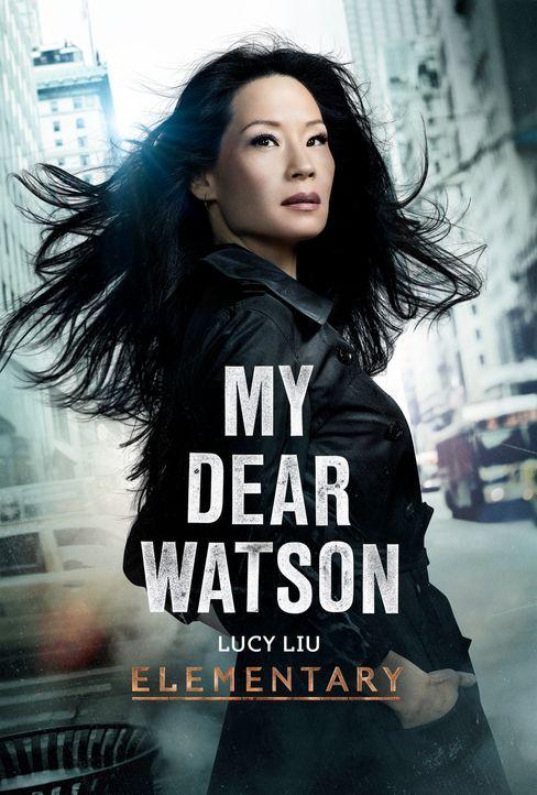 (1. Staffel) - Steht dem durchgeknallten Ermittler Sherlock Holmes zur Seite: Joan Watson (Lucy Liu) ... - Bildquelle: CBS Television