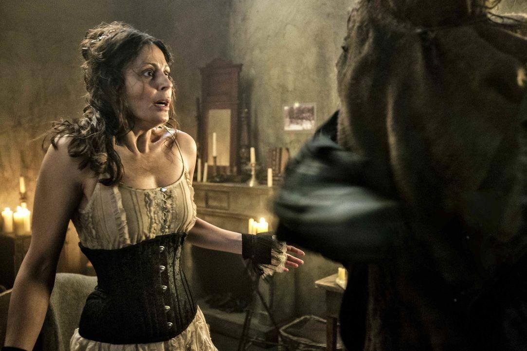 Die junge Prosituierte Mary Jane Kelly (Funda Vanroy) ist das letzte Opfer Jack the Rippers und wurde in Jakobs Zimmer auf brutale Weise ermordet au... - Bildquelle: Algimantas Babravicius SAT.1
