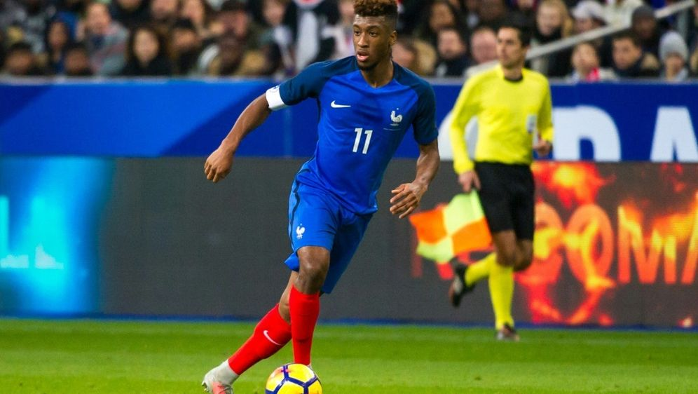 Deschamps nominiert Kingsley Coman für das Länderspiel - Bildquelle: PIXATHLONPIXATHLONSID