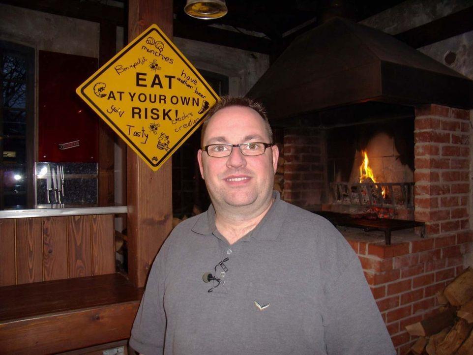 """Vor zwei Jahren hat Martin Hartl (41) das """"Coober Pedy"""" eröffnet. In dem australisch ausgerichteten Restaurant werden unter anderem Krokodil und Kän... - Bildquelle: kabel eins"""