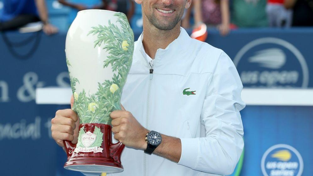 Djokovic gewinnt in Cincinnati und klettert im Ranking - Bildquelle: AFPGETTY SIDMATTHEW STOCKMAN