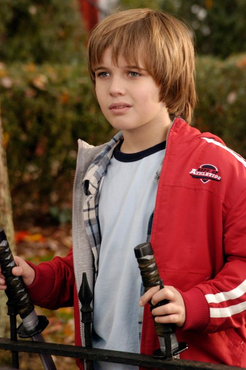 Weil Sam (Slade Pearce) ebenfalls unter einer Erdnussallergie leidet, glaubt Nick, dass der Junge sein Sohn ist ... - Bildquelle: 2007 American Broadcasting Companies, Inc. All rights reserved.