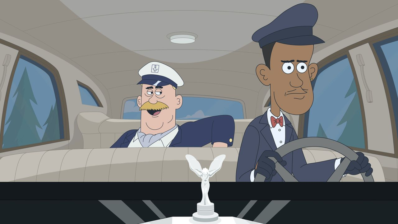 Klappt der Plan, Denzel (r.) als Chauffeur auszugeben und Woody (l.) in den Country-Club zu schmuggeln? - Bildquelle: 2014 Twentieth Century Fox Film Corporation and Comedy Partners.  All rights reserved.