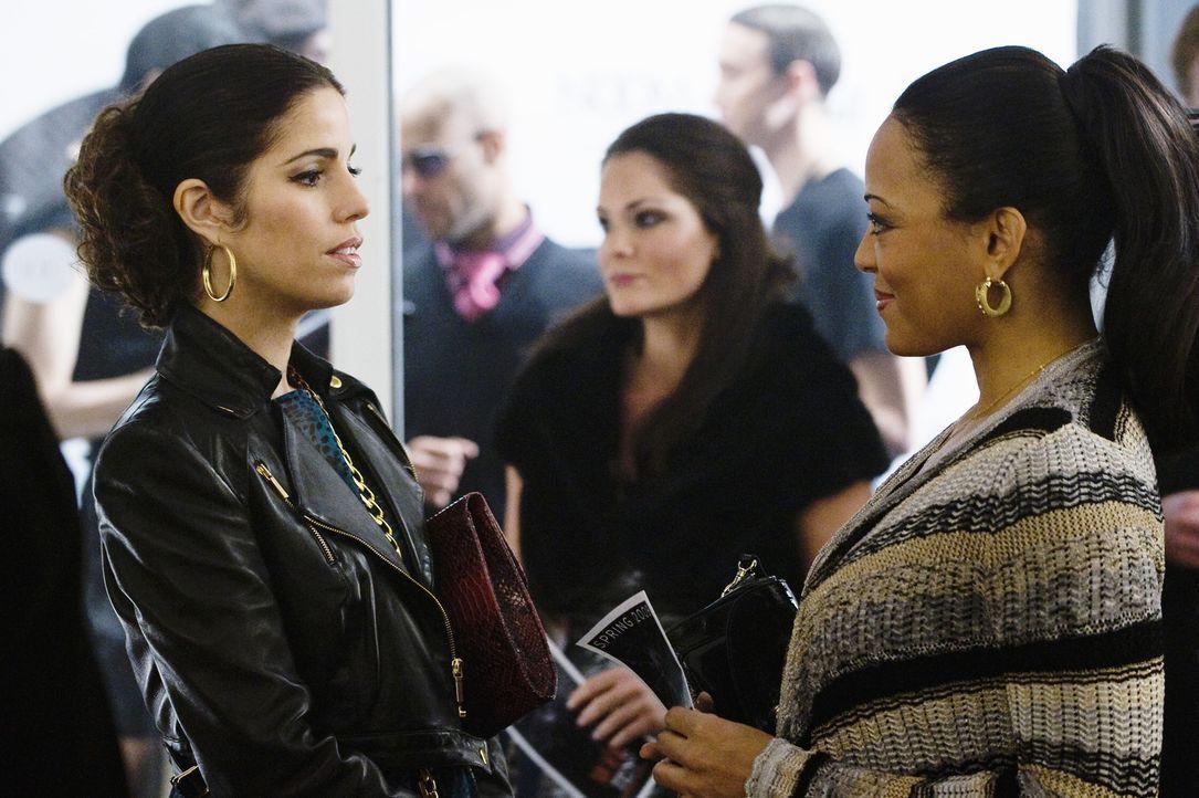 Hilda (Ana Ortiz, l.) kommt nicht damit klar, dass ihr Vater mit seiner Krankenschwester (Lauren Velez, r.) turtelt ... - Bildquelle: 2008   ABC Studios