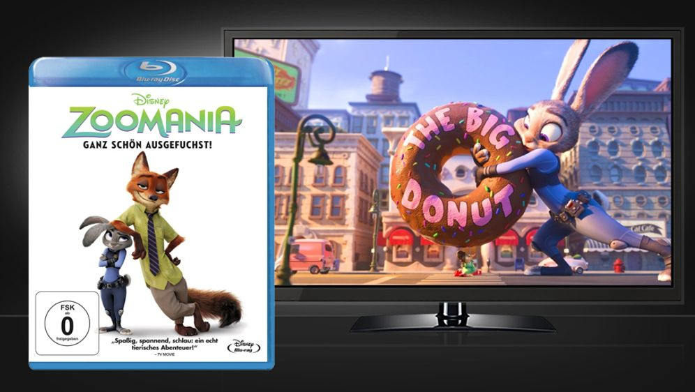 Zoomania (Blu-ray Disc 3D) - Bildquelle: Walt Disney Studios Home Entertainment