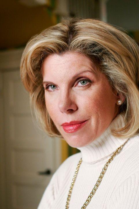 Faith (Christine Baranski) kommt zu Besuch und bringt ihren neuen Freund mit, der ihrem Sohn Jim sofort ein Dorn im Auge ist ... - Bildquelle: ABC Studios