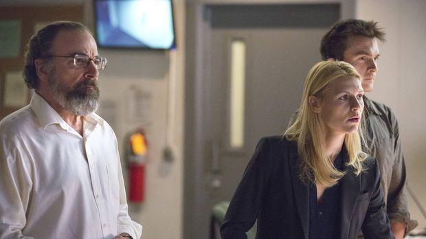 Homeland - Verfolgen Brodys Geheimoperation in der CIA-Zentrale: Carrie (Clai...