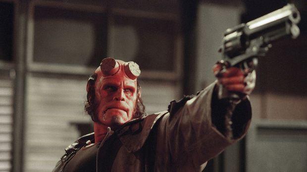 Eigentlich ist Hellboy (Ron Perlman) ein Dämon, der einst im Auftrag von den...
