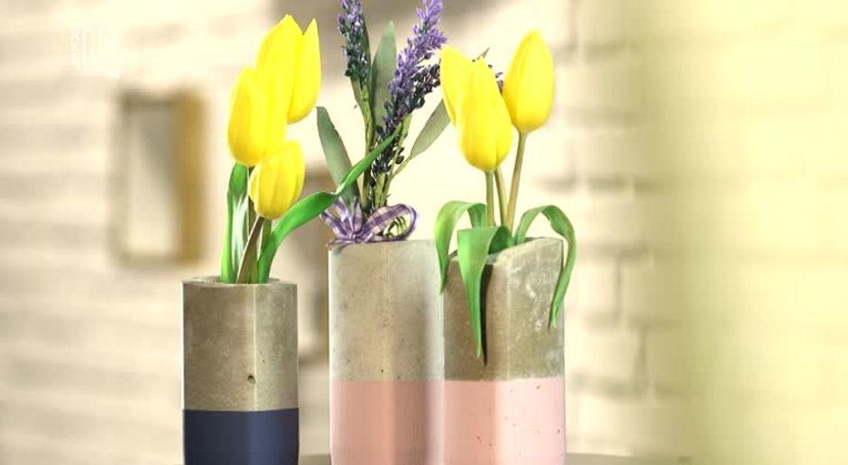 Beton Vasen Selber Machen betonvasen selber machen diy sixx de