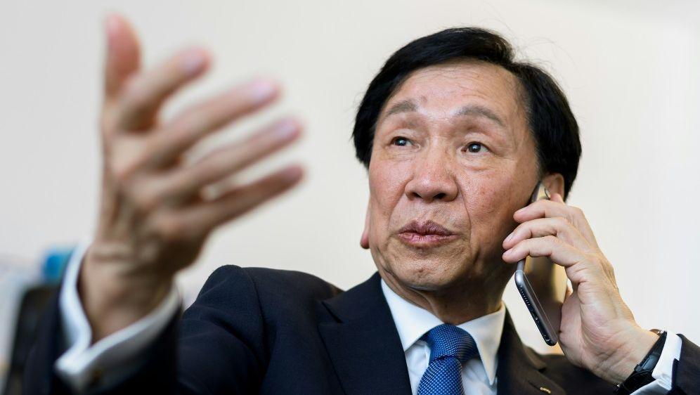 Wu Ching-Kuo ist nicht mehr Präsident des AIBA - Bildquelle: AFPSIDFABRICE COFFRINI