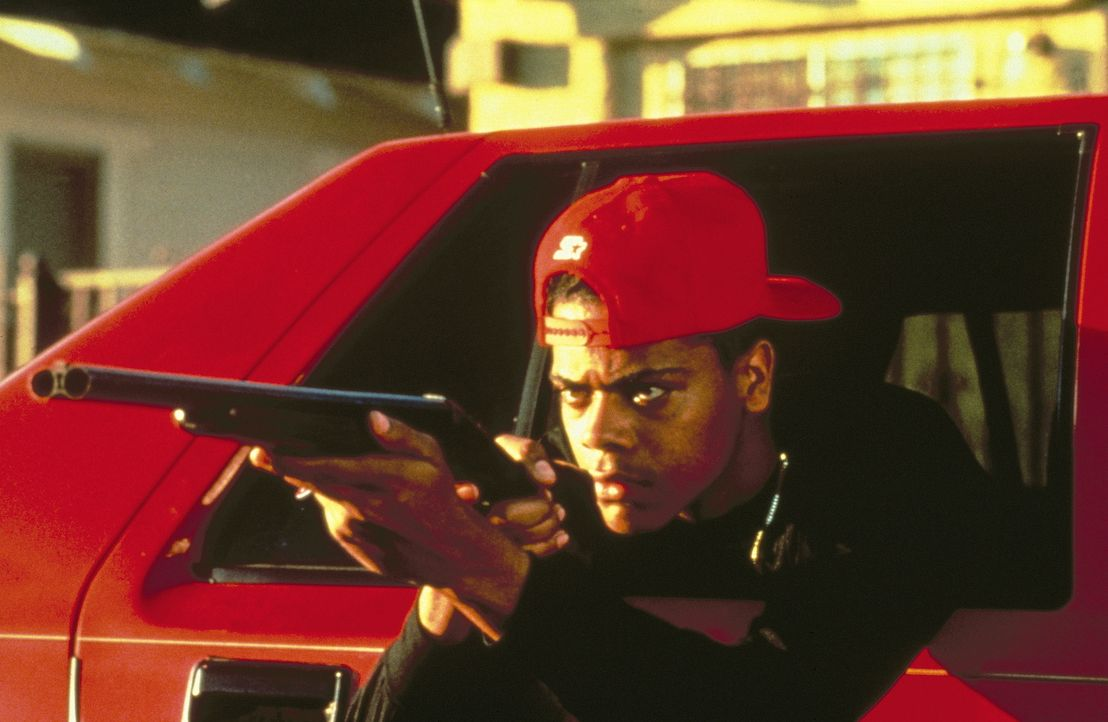 Drive by shooting. Der ganz normale Wahnsinn in South Central L. A. ... - Bildquelle: Columbia Pictures