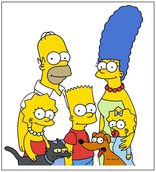 (18. Staffel) – Eine fast normale Familie: (v.l.n.r.) Lisa, Homer, Bart, Marge und Maggie Simpson ... - Bildquelle: und TM Twentieth Century Fox Film Corporation - Alle Rechte vorbehalten