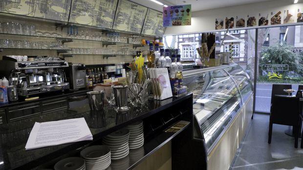 Das Eiscafé Fontanella in Mannheim ist die größte Eisdiele Deutschlands. Über...