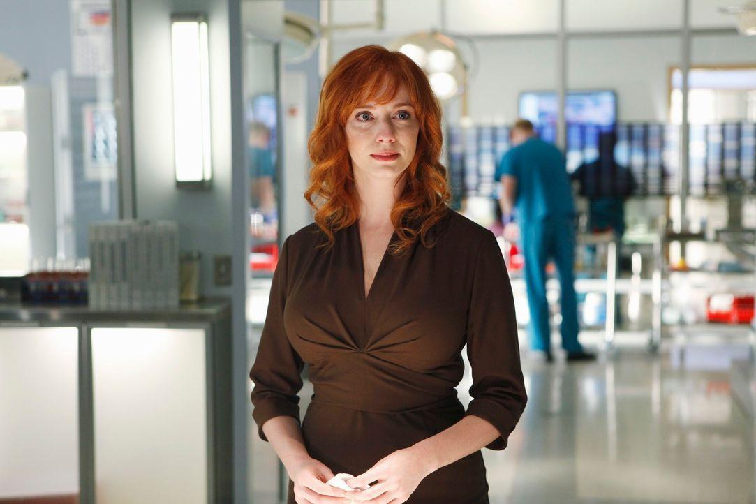 Während Megan einen neuen Fall untersucht, beklagt Karen Archer (Christina Hendricks) den Tod ihrer Zwillingsschwester Jessica ... - Bildquelle: ABC Studios