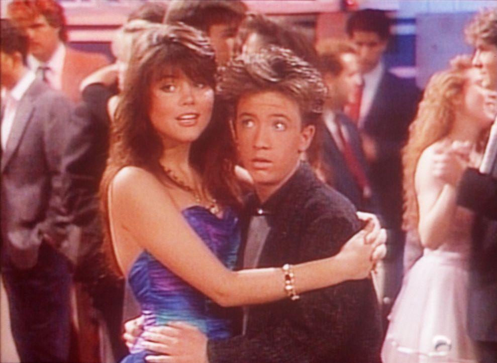 Ist Heather (Tiffani-Amber Thiessen, l.) wirklich so verliebt in Bud (David Faustino, r.), wie sie vorgibt? - Bildquelle: Columbia Pictures
