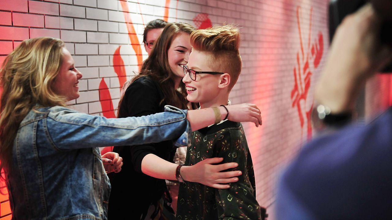 The-Voice-Kids-Nachher-Tim-06-Andre-Kowalski - Bildquelle: SAT.1/Andre Kowalski