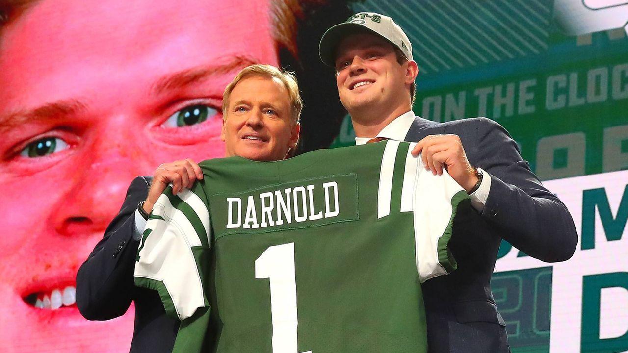 Wegen dieser Klauseln dauerte der Darnold-Deal so lange - Bildquelle: imago/Icon SMI