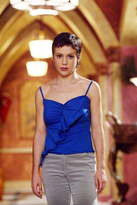 Gideon gibt jeder der Schwestern einen Rat: Phoebe (Alyssa Milano) solle dem Wolf folgen, den sie zuvor bereits im Flur sehen konnte. Piper sollte s... - Bildquelle: Paramount Pictures.