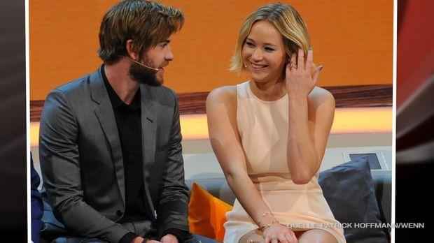 Stars - Jennifer Lawrence scharf auf Liam Hemsworth