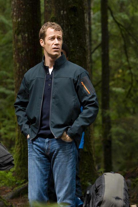 Ein ganz besonderer Camping-Ausflug: Carter (Colin Ferguson) ... - Bildquelle: Universal Television