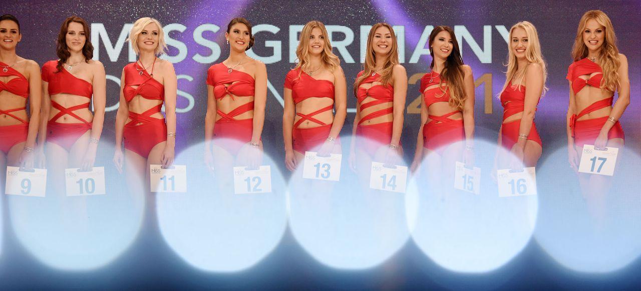 Miss-Germany-Gewinnerin-Teilnehmer-6-dpa - Bildquelle: dpa