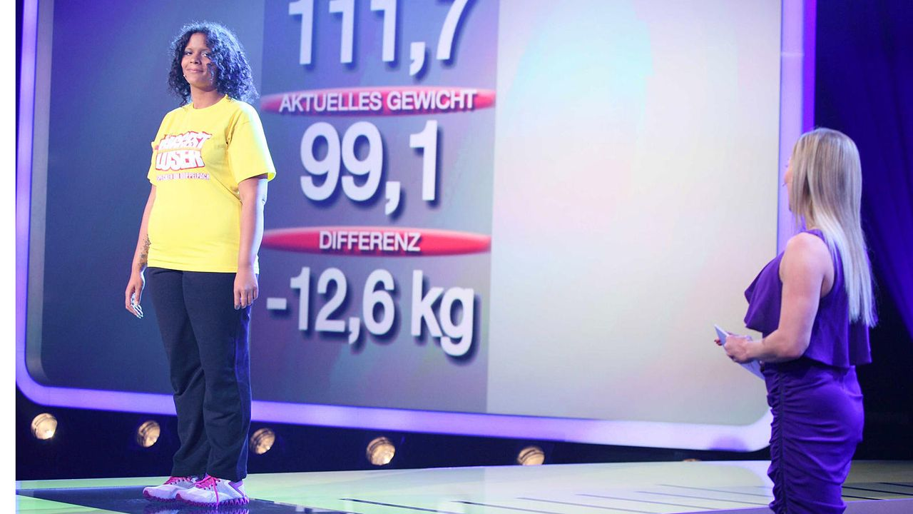 the-biggest-loser-finale-team-gelb-peggy-kabeleins 1600 x 900 - Bildquelle: kabel eins