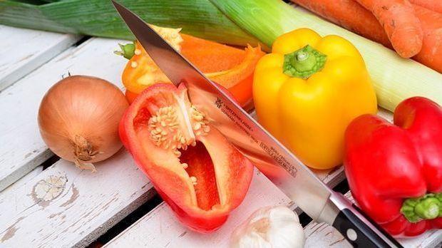 Gemüse grillen 1