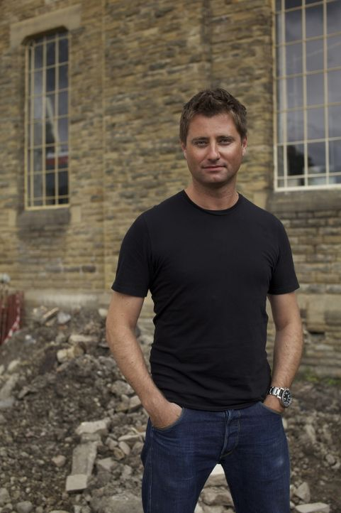"Der ""Restauration Man"" George Clarke hilft, vergessene Schätze wie verwahrloste historische Gebäude in Großbritannien, zu restaurieren ... - Bildquelle: 2014 Cable News Network, Inc. A TimeWarner Company All rights reserved."