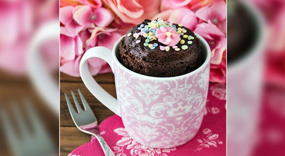 Tassenkuchen Aus Der Mikrowelle Rezepte Und Videoanleitung