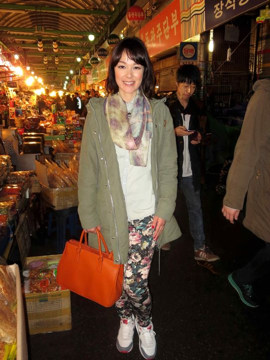 """Eine Woche lang erkundet """"taff""""-Moderatorin Nela Lee die südkoreanische Hauptstadt Seoul. Die 33-jährige Halb-Koreanerin ist in Deutschland geboren... - Bildquelle: ProSieben"""