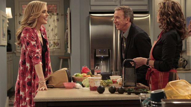 Vanessas (Nancy Travis, r.) Schwester April (Christina Moore, l.) besucht die...