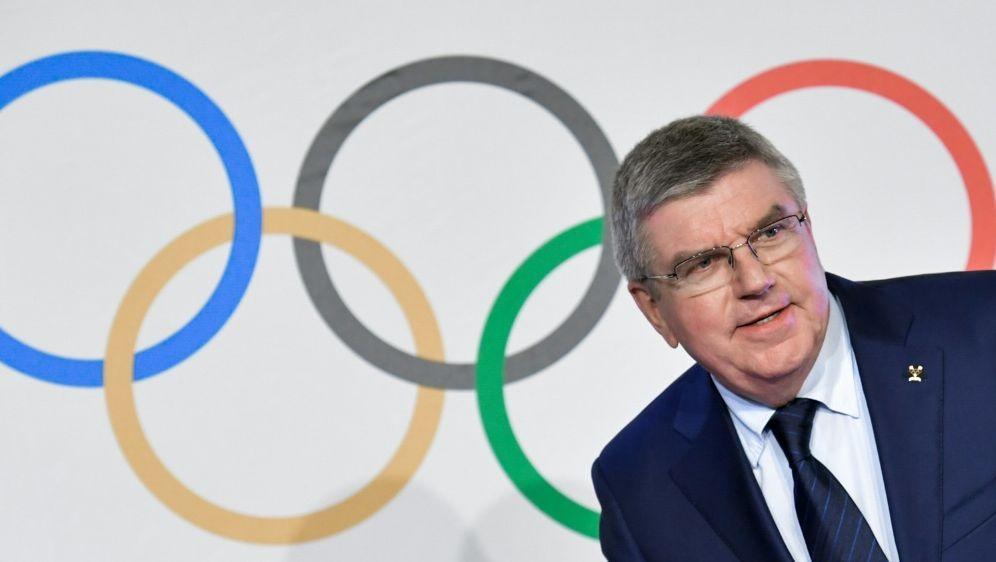 Thomas Bach spricht über die IOC-Entscheidung - Bildquelle: AFPSIDFABRICE COFFRINI