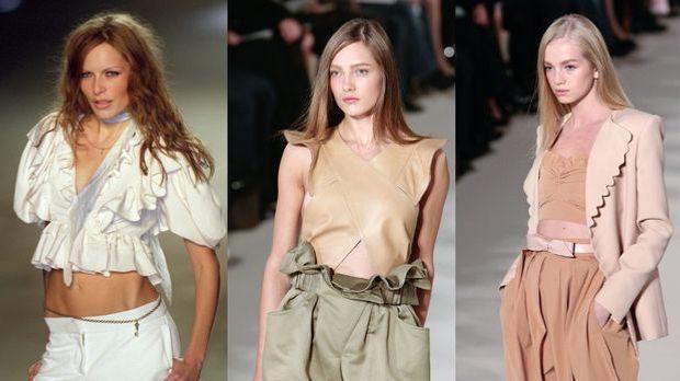 """Mode-Trend """"Bauchfrei"""": Mut zur unverhüllten Mitte"""