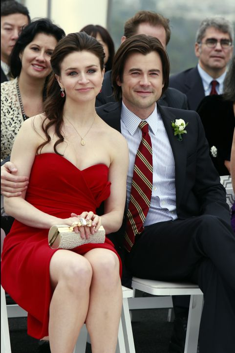 Genießen ihre gemeinsame Zeit: Amelia (Caterina Scorsone, l.) und James (Matt Long, r.) ... - Bildquelle: ABC Studios
