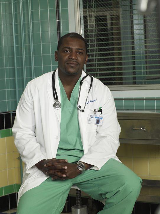 (14. Staffel) - Befindet sich täglich im Kampf um Leben und Tod: Dr. Gregory Pratt (Mekhi Phifer) ... - Bildquelle: Warner Bros. Television