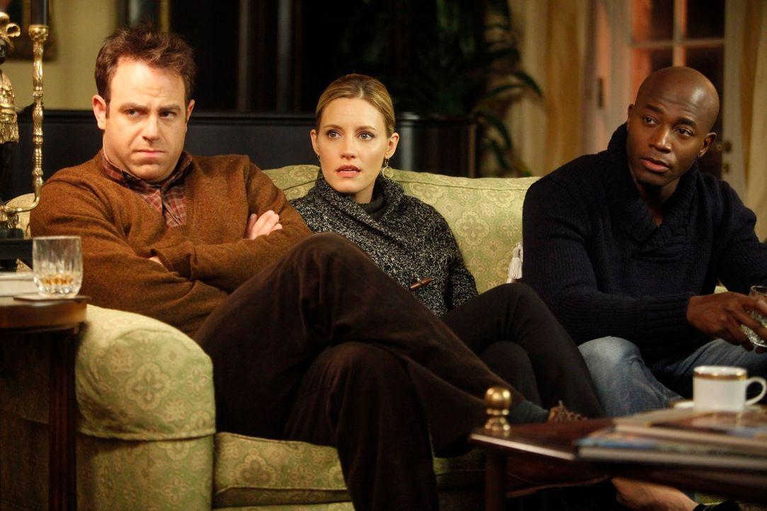 Machen sich Sorgen um Addison: Cooper (Paul Adelstein, l.), Charlotte (KaDee Strickland, M.) und Sam (Taye Diggs, r.) ... - Bildquelle: ABC Studios