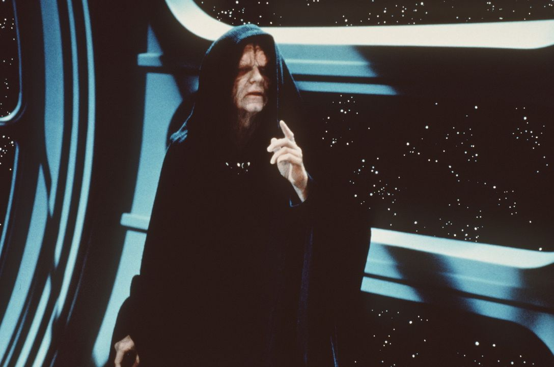Er will die Macht: der allseits gefürchtete Imperator (Ian McDiarmid) ... - Bildquelle: Lucasfilm LTD. & TM. All Rights Reserved.