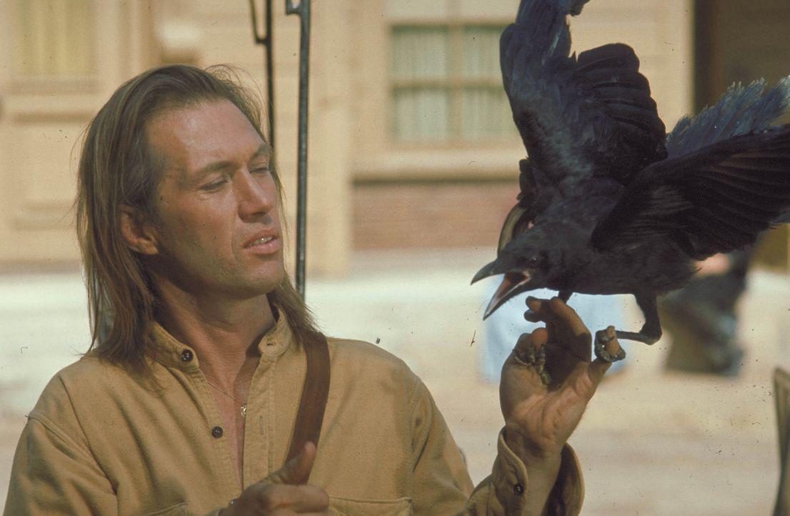 Kämpft sich auf der Suche nach seinem Bruder ganz allein durch den Wilden Westen: Caine (David Carradine) ... - Bildquelle: Warner Bros.