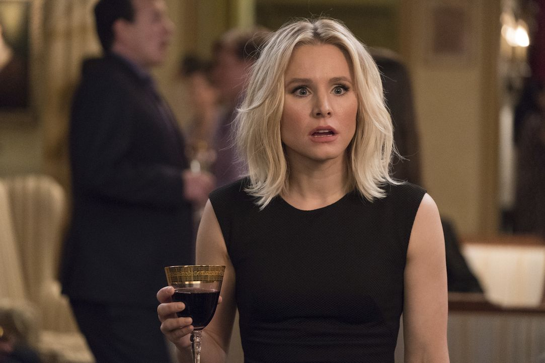 "Muss immer wieder die erschreckende Erkenntnis machen, dass sie doch im ""Bad Place"" ist: Eleanor (Kristen Bell) ... - Bildquelle: Colleen Hayes 2017 Universal Television LLC. ALL RIGHTS RESERVED."