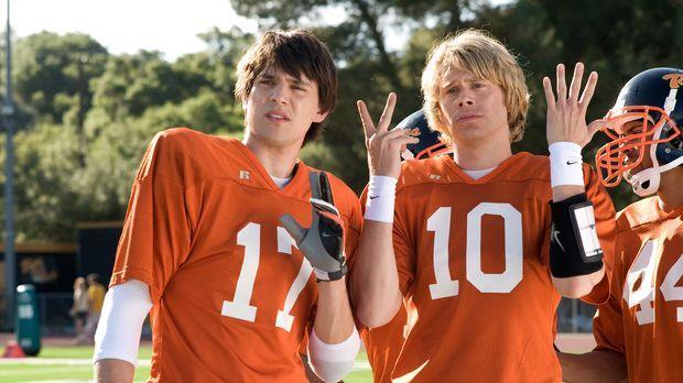 Die Stars des Football-Teams der Ford High School, Shawn Colfax (Nicholas D'A...